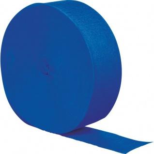 Krepp Band Cobalt Blau 150 Meter