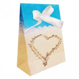 12 Geschenk Tüten Beach Love