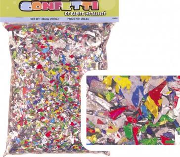 Bunter Konfetti Schredder Folien Mix 283g
