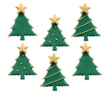 6 Zuckerfiguren Weihnachtsbaum