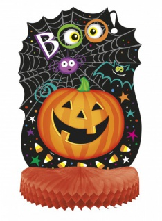 Halloween Tischaufsteller Kürbis Kumpels