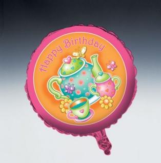 Teekanne Folien Ballon