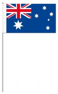 10 Papierfahnen Australien