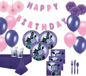 XL 85 Teile Vampirina Party Deko Set für 8 Kinder