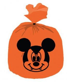 6 Plastik Tüten Micky + Minnie Halloween