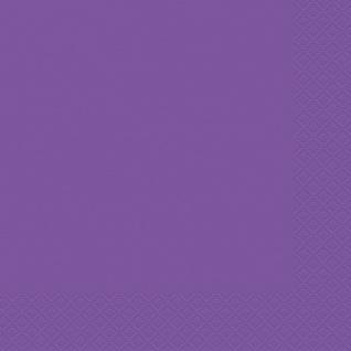 20 Servietten Neon Violett