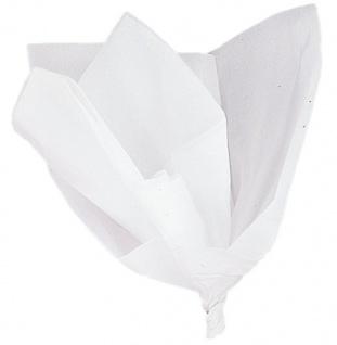 10 Bogen Packseide Weiß