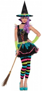 Ringel Hexe Kostüm für Teens
