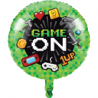 Gaming Party Folien Ballon