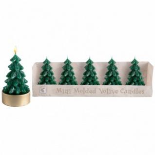 5 Weihnachtsbaum Glitzer Kerzen