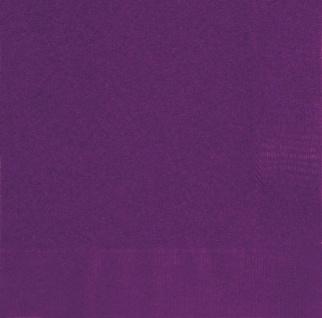 20 Servietten Dunkles Violett - Vorschau