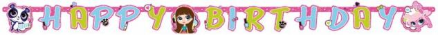 Geburtstags Girlande Littlest Pet Shop