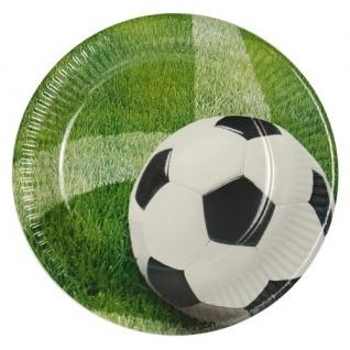 60 Teile Fußball Party Deko Set Eckball 20 Personen - Vorschau 2
