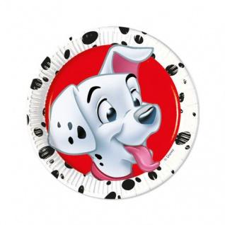 8 kleine Party Teller 101 Dalmatiner
