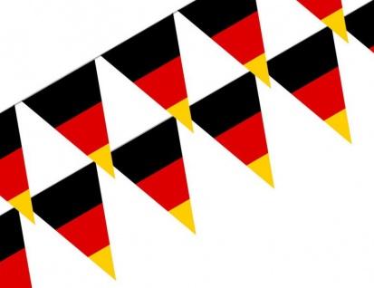 Wimpel Kette Deutschland Flaggen - Vorschau 2