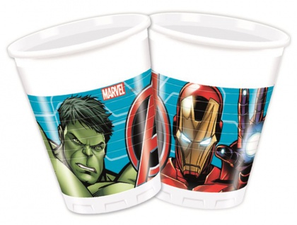 8 Becher MIGHTY Avengers