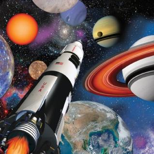 16 Servietten Weltraum Mission