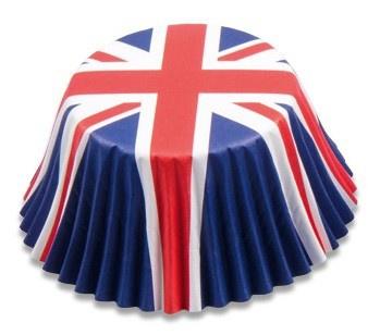 50 Alu Muffin Förmchen Großbritannien
