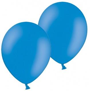 10 Luftballons Kornublumen Blau 28cm