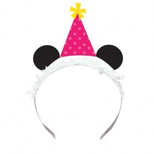 8 Haarreifen mit Pink Panda Bär Ohren - Vorschau 1