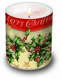 Weihnachts Kerze Fröhliche Weihnachten