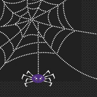 32 Teile Halloween Deko Set Spinnen Netz für 8 Personen - Vorschau 4