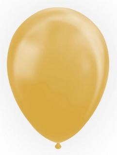 10 Luftballons in Gold Metallic 30cm