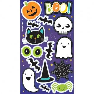 4 Halloween Freunde Sticker Bögen
