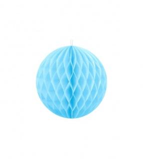 Wabenball Hellblau 10 cm
