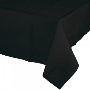 Plastik Tischdecke in Schwarz