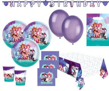 XL 52 Teile Enchantimals Party Deko Set für 8 Kinder