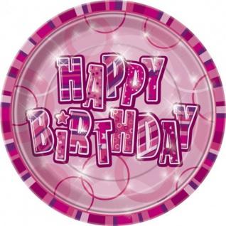 48 Teile zum 13. Geburtstag Party Set in Pink für 16 Personen - Vorschau 3