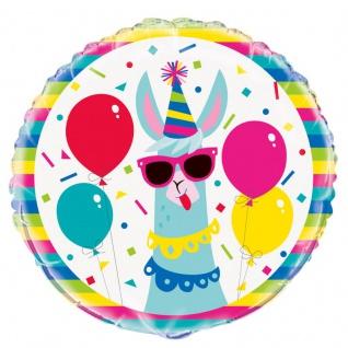Folien Ballon Crazy Lama