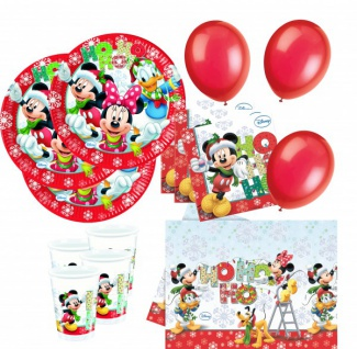 63 Teile Disneys Micky und Minnie Weihnachts Deko Set 16 Kinder - Vorschau 1