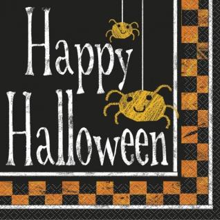 16 Servietten Formel Halloween