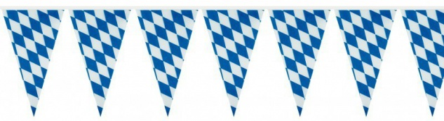XXL 51 Teile Bavaria Party Deko Set Oktoberfest für 10 Personen - Vorschau 4