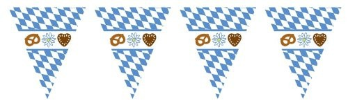Oktoberfest Wimpel Girlande
