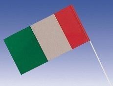 1 Papier Fähnchen Italien