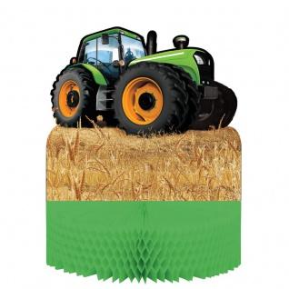 Traktor Party Tischaufsteller