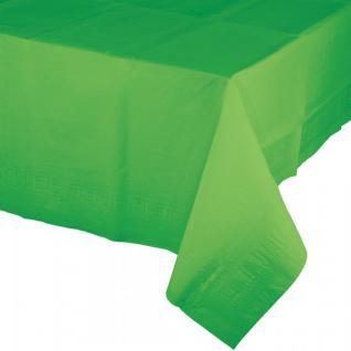 Papier Tischdecke Limonen Grün alte Farbmischung - Vorschau