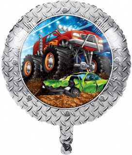 Folien Ballon Monster Truck Rallye