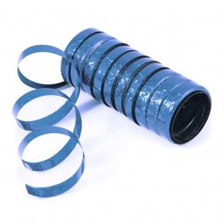 Glitzer Luftschlangen Hellblau