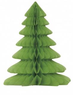Weihnachtsbaum Tischaufsteller Faltdekoration