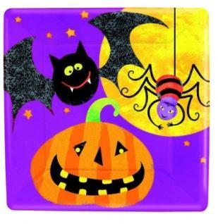 48 Teile kleines Fingerfood Halloween Deko Set Grusel Freunde für 16 Kinder - Vorschau 2
