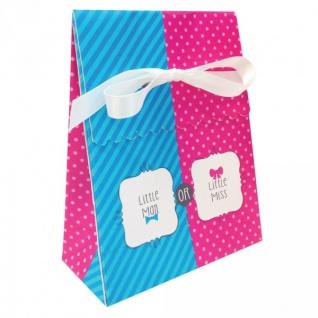 12 Mini Geschenk Tüten Junge oder Mädchen