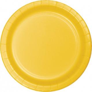 36 Teile Party Deko Set Sonnen Gelb für 8 Personen - Vorschau 2