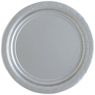 16 Papp Teller Silber