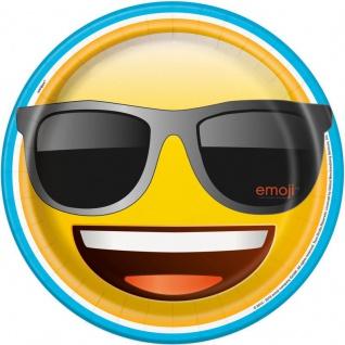 8 Papp Teller Emoji Party