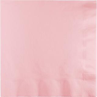 20 Servietten Pastell Rosa