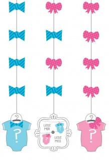 3 hängende Girlanden Junge oder Mädchen